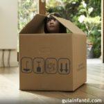 ninos en caja