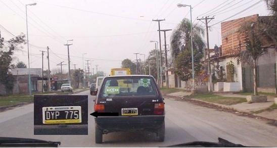 Luego del secuestro de la nena de esta manera, continúa trabajando como remis por las calles de Tucumán