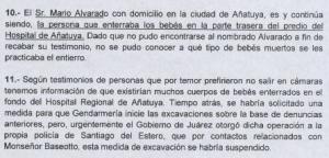 Alvarado Miguel, enterrador oficial del Hospital