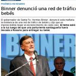Gobernador de Santa Fe reconoce que hay tráfico de bebés en su provincia