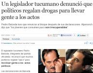 Para José Alperovich, el gobernador de Tucumán, estos niños son irrecuperables, pero puede usarlos, desde los 16 años buscando votos