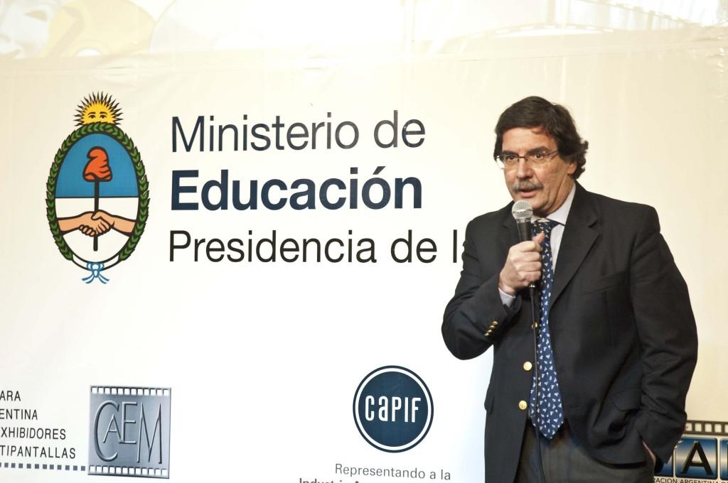 Alberto Sileoni - Ministro de Educación de la Nación Argentina