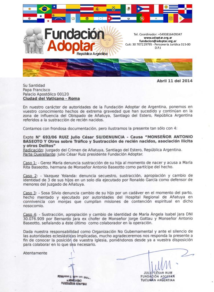 Carta 1 al Papa 002