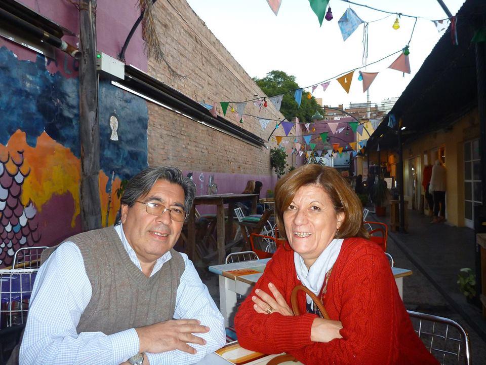 Dr. Ronaldo García y su esposa Elba Baigorria