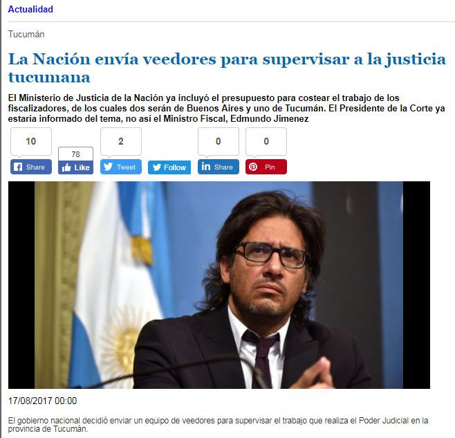 Tucumán: la obscenidad del Poder Judicial en el Aniversario de la Convención