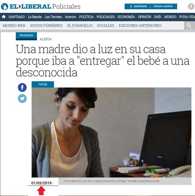 Robo de bebés en Argentina: Rápido, barato, seguro y legal