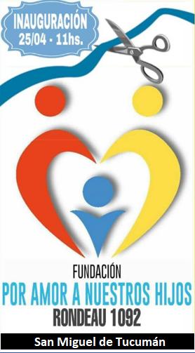 ¿Una fundación por amor a nuestros hijos?