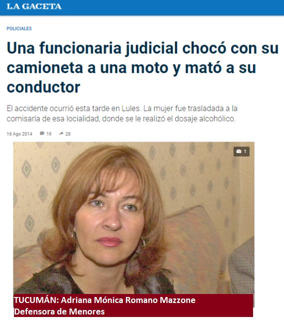 Tucumán: Una Defensora de Menores sin pena y sin gloria