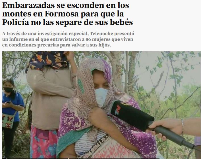 Formosa. Al robo de bebés lo denunciamos hace 21 años