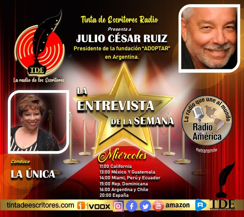 (Audio) La Radio de los Escritores, hoy, a solas con Julio César Ruiz