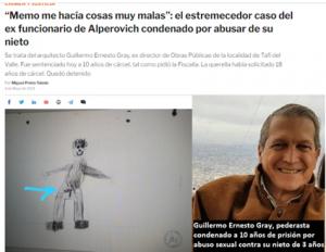 El pederasta Gray maniobra para revertir su condena en la Corte de Tucumán